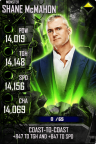 SuperCard ShaneMcMahon S4 17 Monster Spring