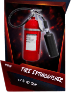 SuperCard Support FireExtinguisher S4 18 Titan