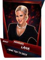 SuperCard Support Lana S4 16 Beast