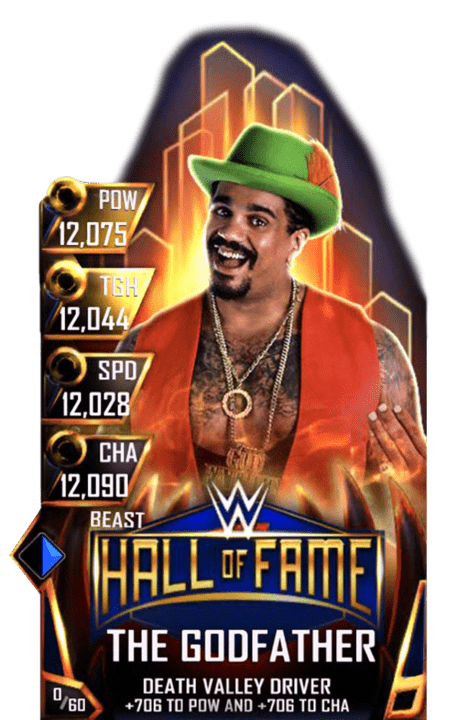 SuperCard TheGodfather S4 16 Beast HallOfFame