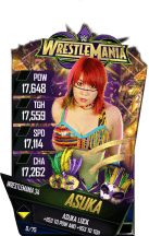 SuperCard Asuka S4 19 WrestleMania34