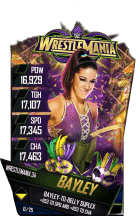 SuperCard Bayley S4 19 WrestleMania34