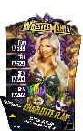 SuperCard CharlotteFlair S4 19 WrestleMania34