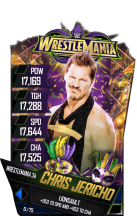 SuperCard ChrisJericho S4 19 WrestleMania34