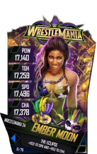 SuperCard EmberMoon S4 19 WrestleMania34