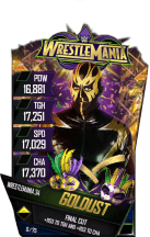 SuperCard Goldust S4 19 WrestleMania34