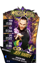 SuperCard JeffHardy S4 19 WrestleMania34