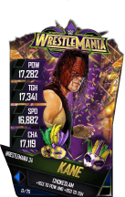 SuperCard Kane S4 19 WrestleMania34