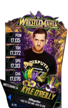 SuperCard KyleOReilly S4 19 WrestleMania34