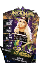 SuperCard LivMorgan S4 19 WrestleMania34