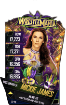 SuperCard MickieJames S4 19 WrestleMania34