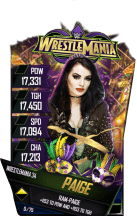 SuperCard Paige S4 19 WrestleMania34