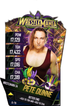 SuperCard PeteDunne S4 19 WrestleMania34