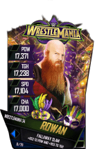 SuperCard Rowan S4 19 WrestleMania34