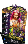 SuperCard SashaBanks S4 19 WrestleMania34