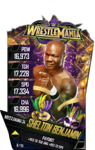 SuperCard SheltonBenjamin S4 19 WrestleMania34