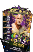 SuperCard TheRock S4 19 WrestleMania34