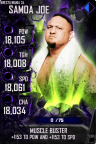 SuperCard Edge S4 19 WrestleMania34 Spring