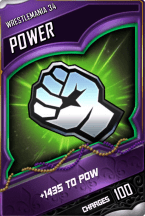 SuperCard Enhancement Power S4 19 WrestleMania34