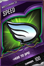 SuperCard Enhancement Speed S4 19 WrestleMania34