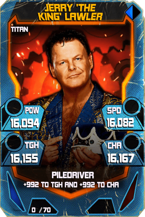 SuperCard JerryLawler S4 18 Titan Throwback