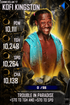 SuperCard KofiKingston S4 15 SummerSlam17 Spring