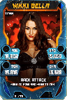 SuperCard NikkiBella S4 18 Titan Throwback