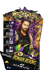 SuperCard RomanReigns S4 19 WrestleMania34