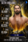 SuperCard SethRollins S4 15 SummerSlam17 Spring