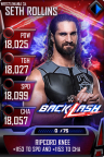 SuperCard SethRollins S4 19 WrestleMania34 MITB