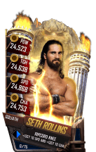 SuperCard SethRollins S4 20 Goliath