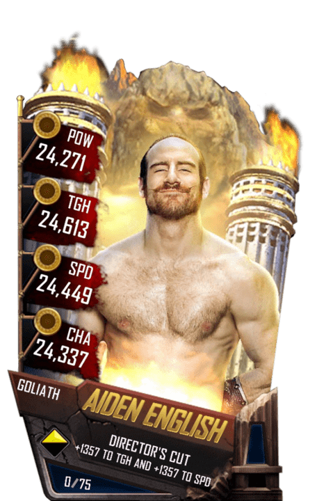 SuperCard AidenEnglish S4 20 Goliath