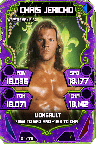 SuperCard ChrisJericho S4 19 WrestleMania34 Throwback