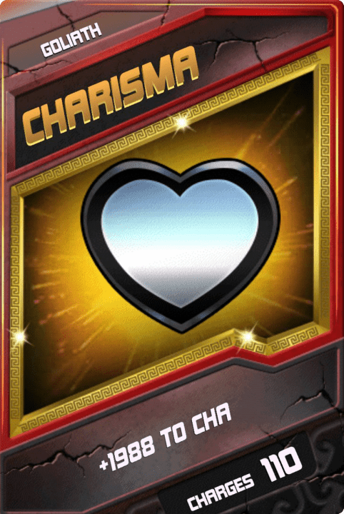 SuperCard Enhancement Charisma S4 20 Goliath