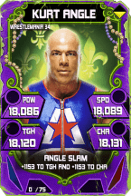 SuperCard KurtAngle S4 19 WrestleMania34 Throwback