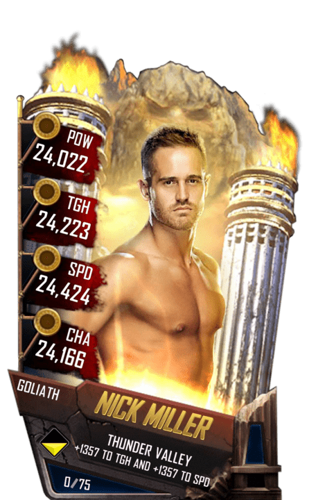 SuperCard NickMiller S4 20 Goliath