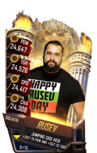 SuperCard Rusev S4 20 Goliath