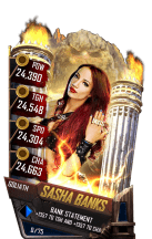 SuperCard SashaBanks S4 20 Goliath