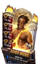 SuperCard XavierWoods S4 20 Goliath
