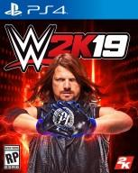WWE 2K19 Cover PS4