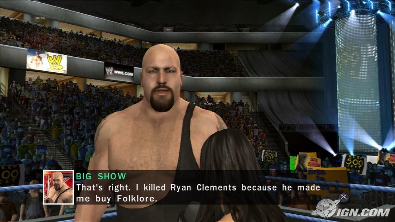 Big Show - WWE SmackDown vs. Raw 2010 - Roster Hammer Throw Technique