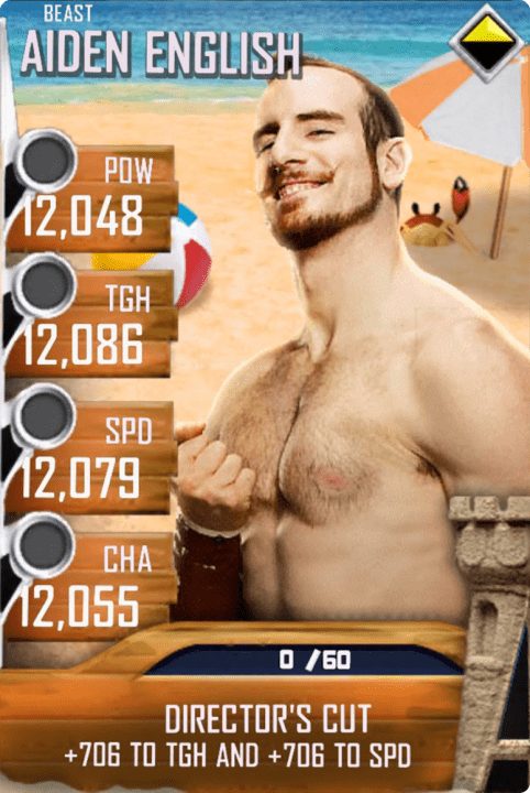 SuperCard AidenEnglish S4 16 Beast BeachBash