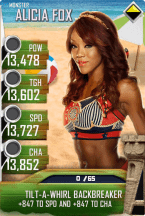 SuperCard AliciaFox S4 17 Monster BeachBash