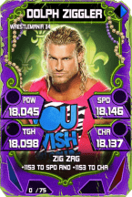 SuperCard DolphZiggler S4 19 WrestleMania34 Throwback