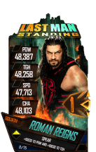 SuperCard RomanReigns S4 20 Goliath LMS