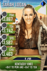 SuperCard SarahLogan S4 17 Monster BeachBash