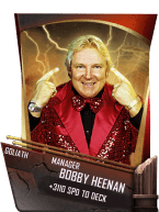 SuperCard Support BobbyHeenan S4 20 Goliath