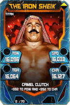 SuperCard TheIronSheik S4 18 Titan Throwback