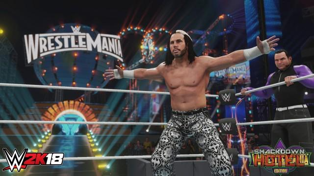 WWE 2K18 WM Edition HardyBoyz