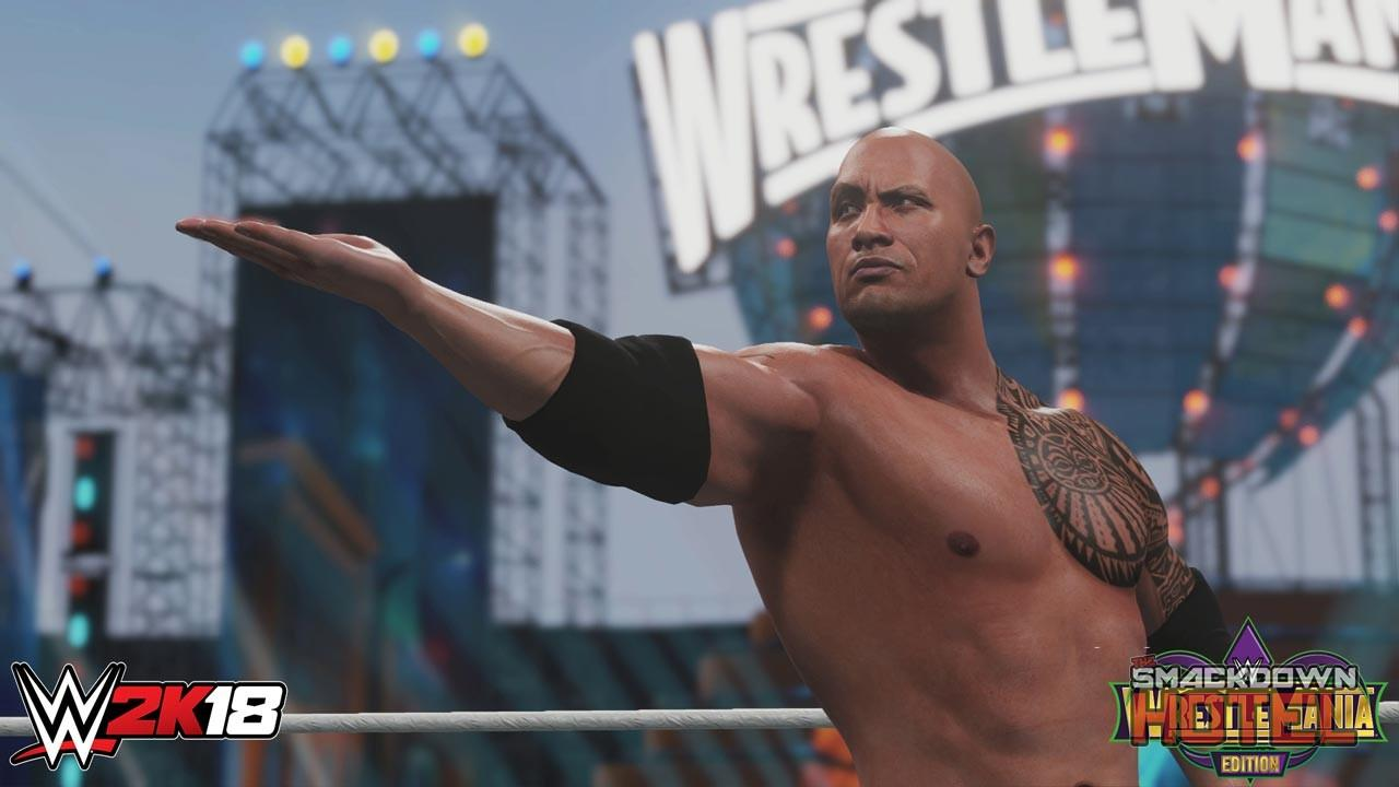 WWE 2K18 WM Edition TheRock